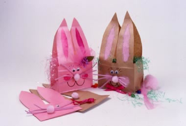 on sale 7c39b e2e1d Everyday Celebrating DIYTutorial Easter Bunny Paper Bag Bunn