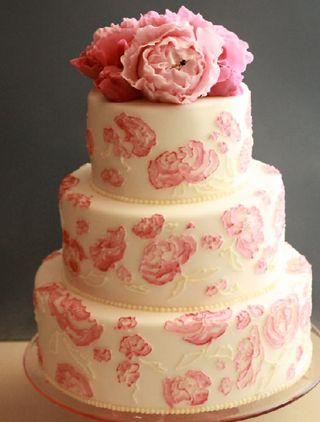 Peony_cake