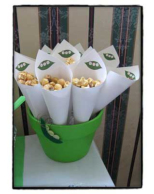 Peapod_shower_cones