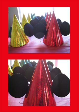 Cone-hats-vertical