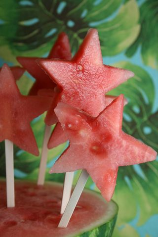 Frozen Watermellon Pops
