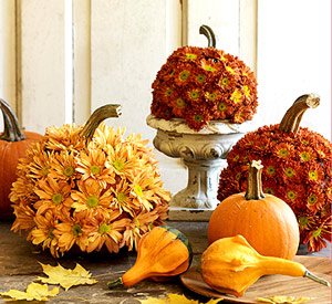 Fall Wedding Centerpieces Pumpkin