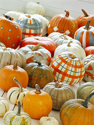 Plaid_pumpkins