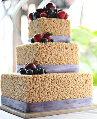 Rice-krispie-wedding-cake