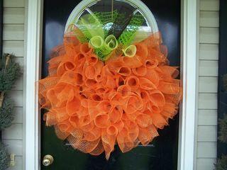 Wreathpumpkin